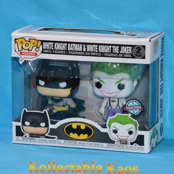 Batman: White Knight - Batman & Joker Pop! Vinyl Figure 2-Pack (RS)