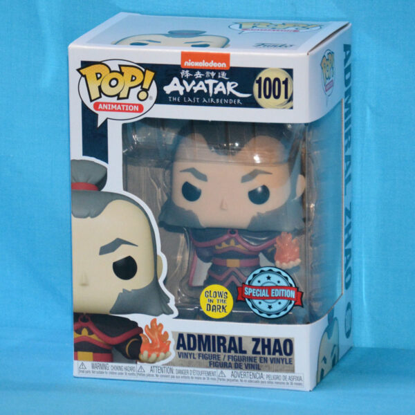 Avatar The Last Airbender - Zhao with Fireball Glow in the Dark Pop! Vinyl Figure