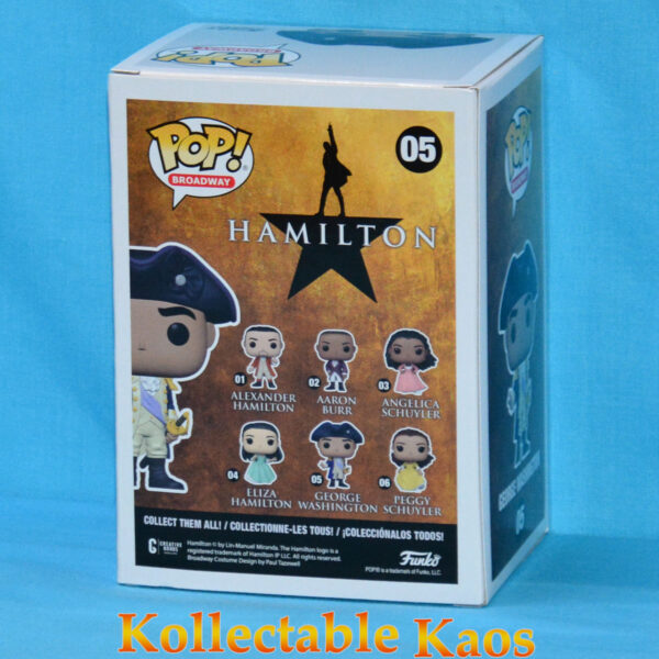 Hamilton - George Washington Pop! Vinyl Figure