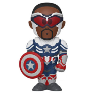 The Falcon and the Winter Soldier - Captain America Vinyl SODA Figure in Collector Can