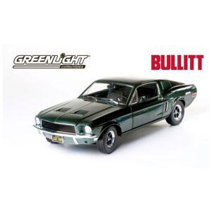 1:18 Bullitt 1968 Ford Mustang GT Fastback