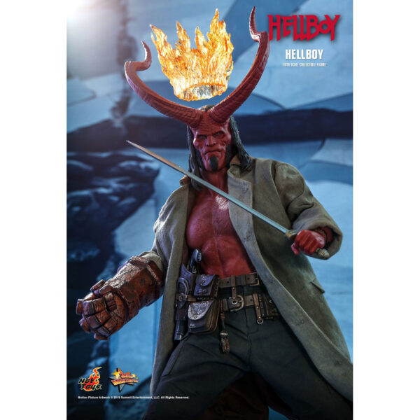 Hellboy (2019) - Hellboy 1/6th Scale Hot Toys Action Figure