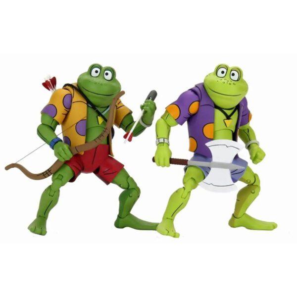"Teenage Mutant Ninja Turtles - Genghis & Rasputin Frog 7"" Action Figure 2-pack"