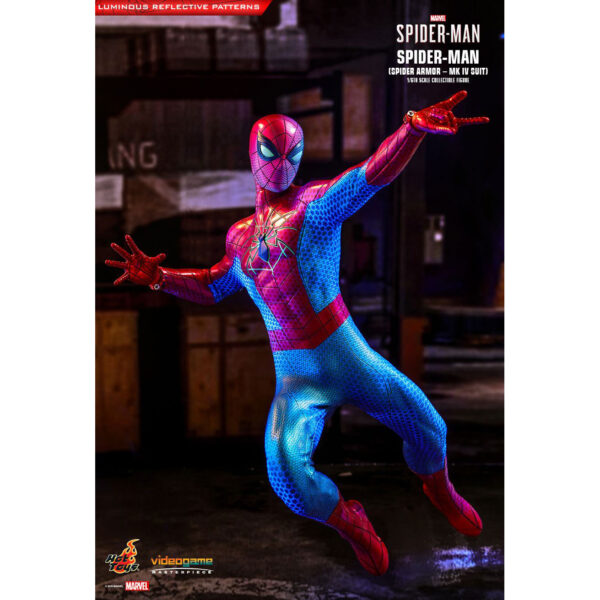 Spider-Man (Video Game 2019) - Spider Armor Mark IV 1/6th Scale Hot Toys Action Figure