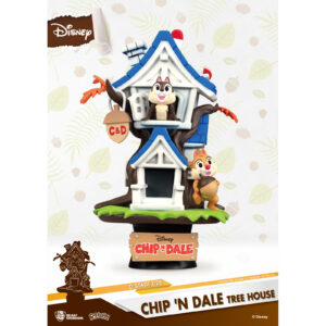 Diorama Stage - Chip n Dale Tree House