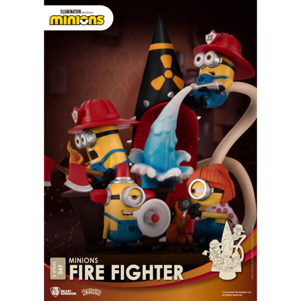 Diorama Stage - Minions Fire Fighter