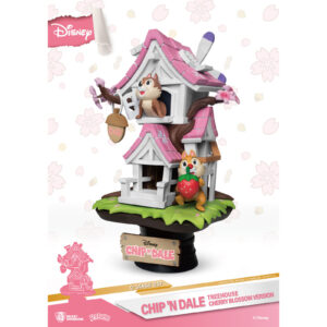 Diorama Stage - Chip n Dale Tree House Cherry Blossom Version