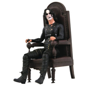 """The Crow - Eric Draven with Chair Deluxe 7"""" Scale Action Figure"""
