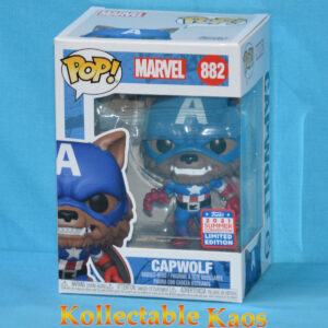 2021 FunKon - Captain America - Capwolf Year of the Shield Pop! Vinyl Figure