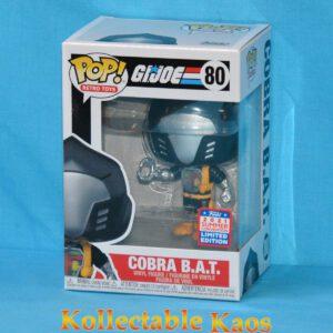 2021 FunKon - G.I. Joe - Cobra B.A.T. Pop! Vinyl Figure