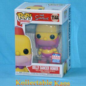 2021 FunKon - The Simpsons - Homer Belly Dancer Pop! Vinyl Figure