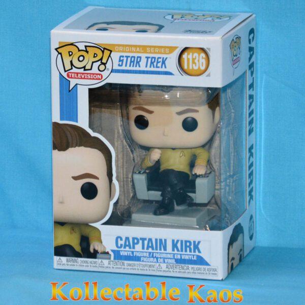 Star Trek: TOS - Captain Kirk in Chair Pop! Vinyl Figure