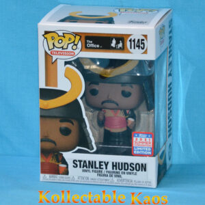 2021 FunKon - The Office - Stanley Hudson as Warrior Pop! Vinyl Figure