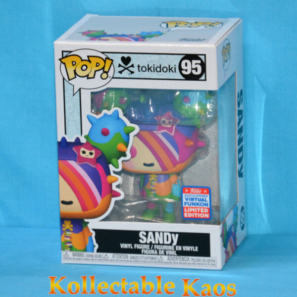 2021 FunKon - Tokidoki - SANDy Rainbow Pop! Vinyl Figure