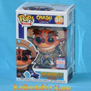 2021 FunKon - Crash Bandicoot - Crash in Mask Armor Pop! Vinyl Figure