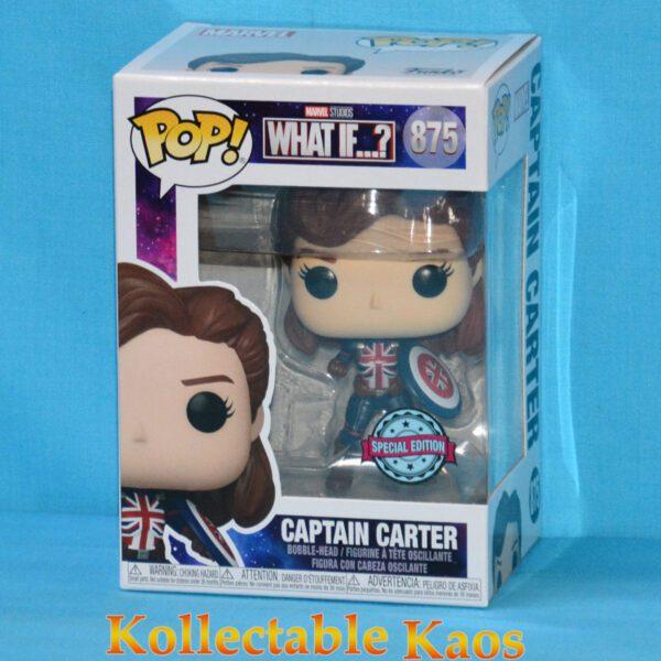 What If - Captain Carter Fighting Pose Pop! Vinyl Figure