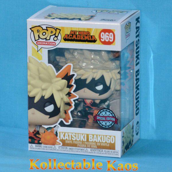 My Hero Academia - Bakugo with Explosion Metallic Pop! Vinyl Figure