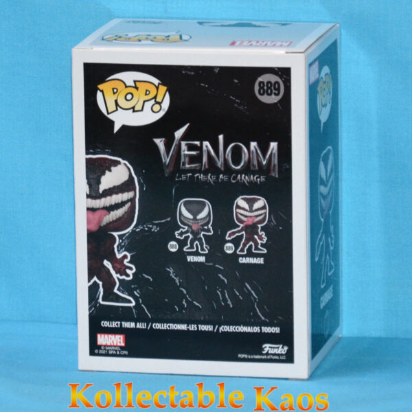 Venom 2: Let There Be Carnage - Carnage Pop! Vinyl Figure