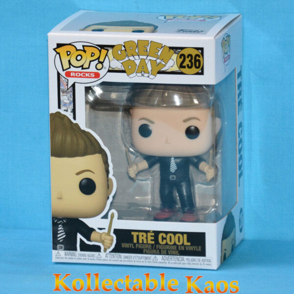 Green Day - Tre Cool Pop! Vinyl Figure