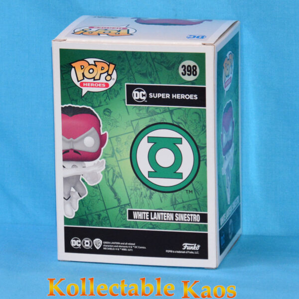 2021 FunKon - Green Lantern - White Lantern Sinestro Pop! Vinyl Figure
