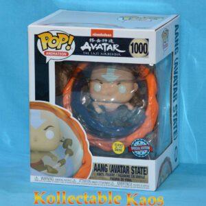 """Avatar The Last Airbender - Aang Avatar State Glow in the Dark 15cm(6"""") Pop! Vinyl Figure"""