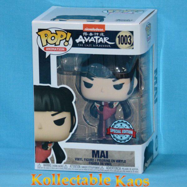 Avatar The Last Airbender - Mai with Knives Pop! Vinyl Figure