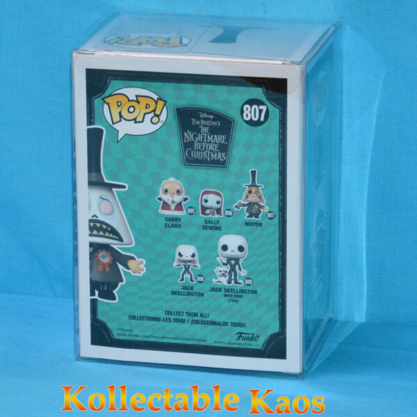 The Nightmare Before Christmas - Mayor with Unhappy Face Diamond Glitter Pop! Vinyl Figure (RS) #807 - Chase