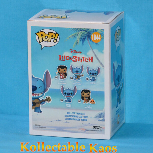 Lilo & Stitch - Stitch with Ukelele Diamond Glitter Pop! Vinyl Figure