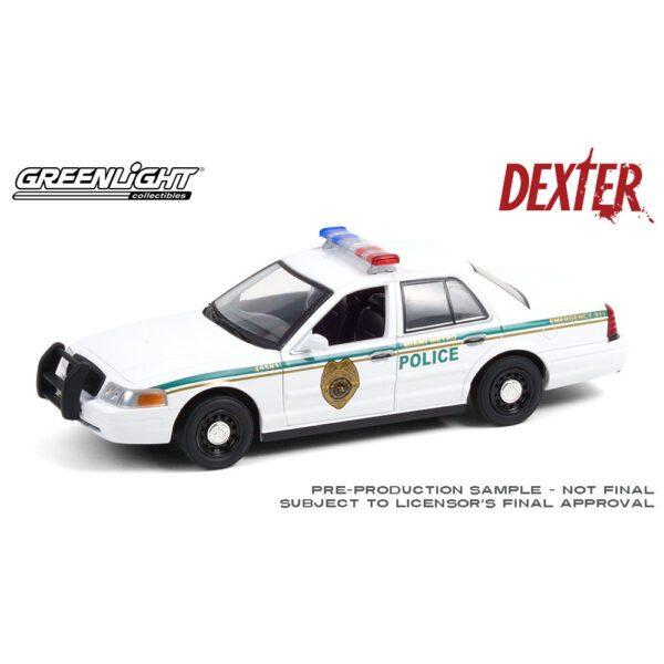 1:24 2001 Ford Crown Victoria Police Interceptor - Dexter