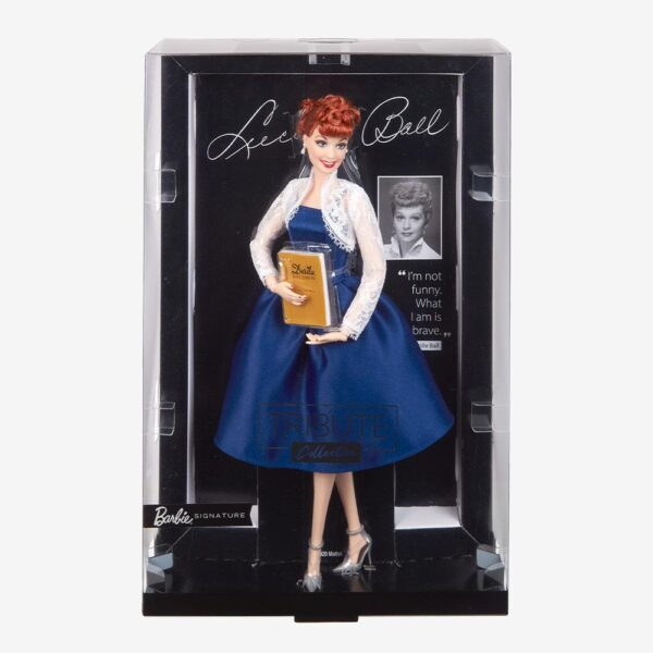 GXL16 Lucille Ball Barbie Doll 1 600x600 - Barbie - Lucille Ball Tribute Collection Doll