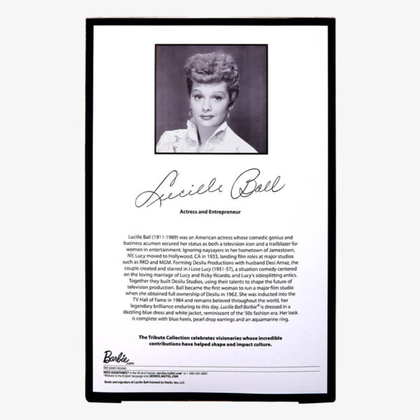 Barbie - Lucille Ball Tribute Collection Doll