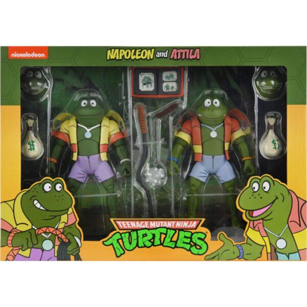 "Teenage Mutant Ninja Turtles - Napoleon & Atilla Frog 7"" Scale Action Figure 2-Pack"