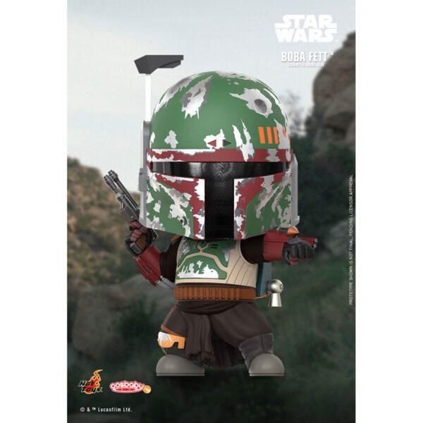 Star Wars: The Mandalorian - Boba Fett Cosbaby (S) Hot Toys Figure