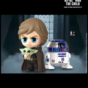 Star Wars: The Mandalorian - Luke, R2-D2 & The Child Cosbaby (S) Hot Toys Figure Pack