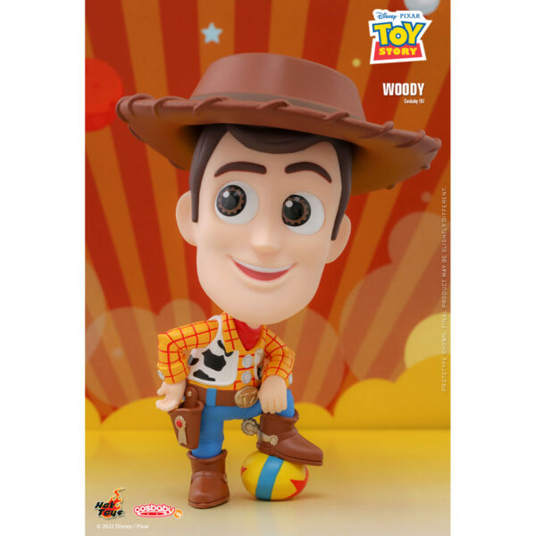Toy Story - Woody Cosbaby (S) Hot Toys Figure