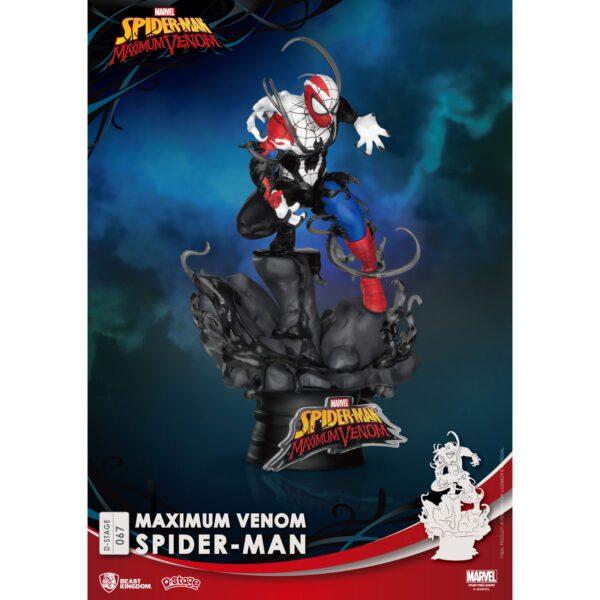 Diorama Stage - Maximum Venom - Spider Man