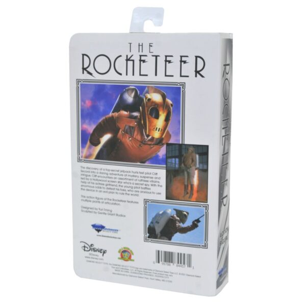 """The Rocketeer Deluxe VHS 7"""" Action Figure"""