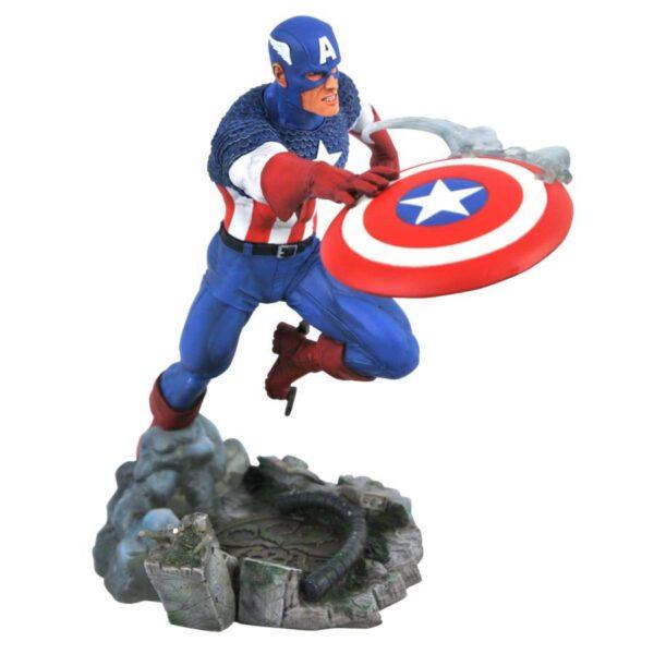 """The Avengers - Captain America VS. Marvel Gallery 25cm(10"""") PVC Statue"""