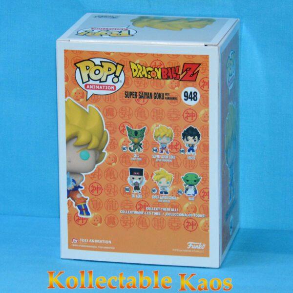 Dragon Ball Z - Super Saiyan Goku with Kamehameha Wave Pop! Vinyl Figure