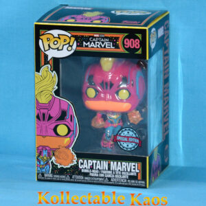 Marvel - Captain Marvel Blacklight Pop! Vinyl Figure