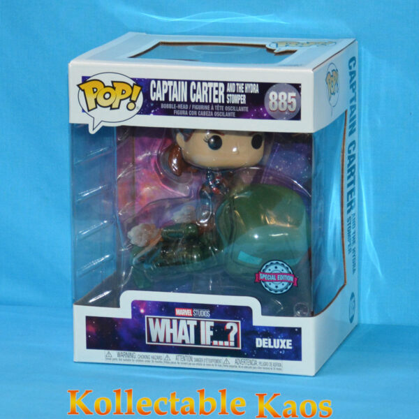 What If - Captain Carter and the Hydra Stomper Year of the Shield Deluxe Pop! Vinyl Figure (RS) #885