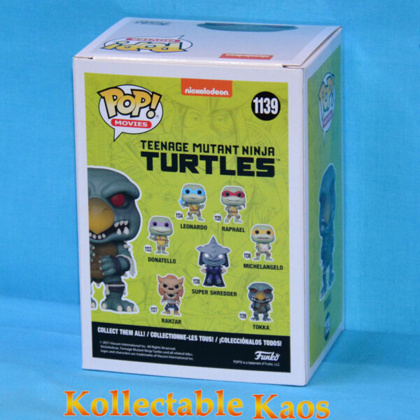 Teenage Mutant Ninja Turtles II - Tokka Pop! Vinyl Figure