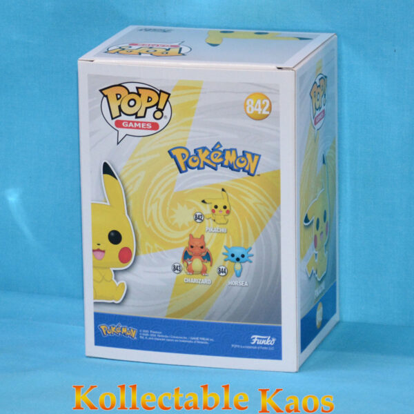 Pokemon - Pikachu Sitting Pop! Vinyl Figure
