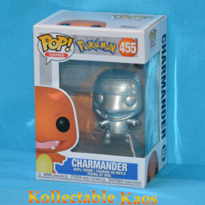 Pokemon - Charmander Silver Metallic 25th Anniversary Pop! Vinyl Figure