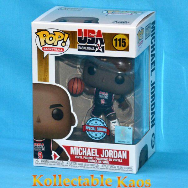 NBA: Legends - Magic Johnson 1992 Team USA Jersey Pop! Vinyl Figure