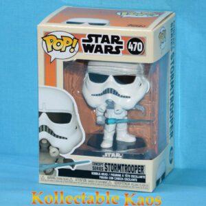 Star Wars: Ralph McQuarrie Concept Series - Stormtrooper Concept Pop! Vinyl Figure