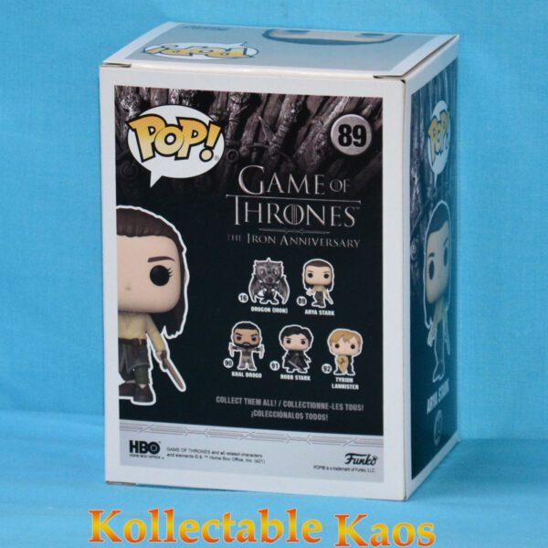 Game of Thrones - Arya Stark Training 10th Anniversary Pop! Vinyl Figure