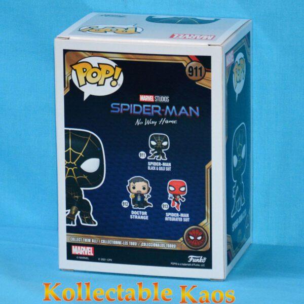 Spider-Man: No Way Home - Spider-Man Black & Gold Pop! Vinyl Figure