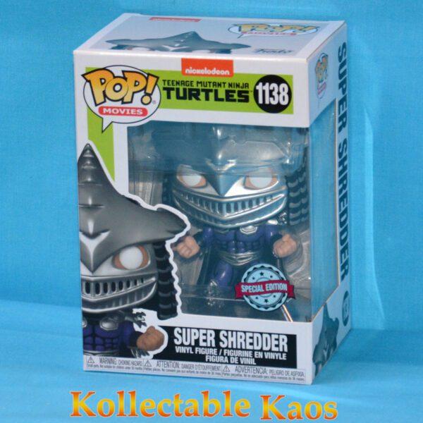 Teenage Mutant Ninja Turtles II - Super Shredder Metallic Pop! Vinyl Figure