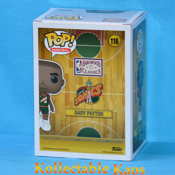 NBA: Legends - Gary Payton 96 Sonics Road Pop! Vinyl Figure